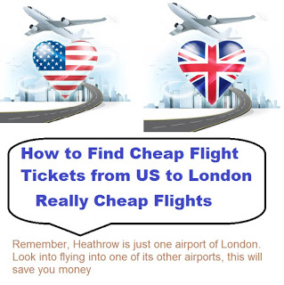 How To Find Cheap Flights from US to London